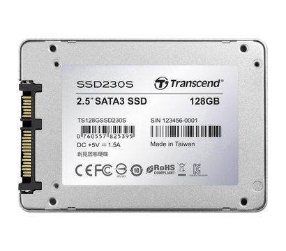 Фото №2  SSD Transcend Premium SSD230S 128GB 2.5 SATA III 3D V-NAND TLC — TS128GSSD230S