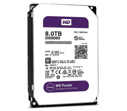 Фотография 2 товара Жесткий диск Western Digital Purple 8TB 5400rpm 128MB Buffer 3.5 SATA III — WD80PURZ