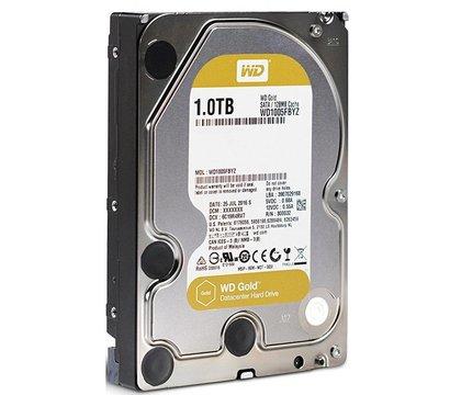 Фотография 2 товара Жесткий диск Western Digital Gold 1TB 7200rpm 128MB Buffer 3.5 SATA III — WD1005FBYZ