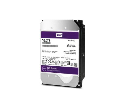 Фото №1 жесткого диска Western Digital Purple 10TB 256МB 3.5 SATA III — WD100PURZ