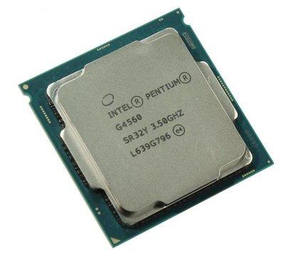 Фото №1 процессора Intel Pentium G4560, CM8067702867064