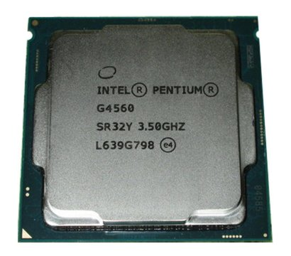 Фото №2 процессора Intel Pentium G4560, CM8067702867064