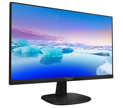 Фото №1 монитора Philips 243V7QSB/00 Black