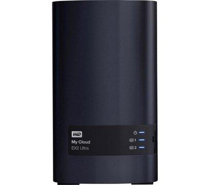 Фото №1 сетевого накопителя (NAS) Western Digital My Cloud EX2 Ultra NAS 4TB 3.5 LAN/USB 3.0 — WDBVBZ0040JCH-EESN