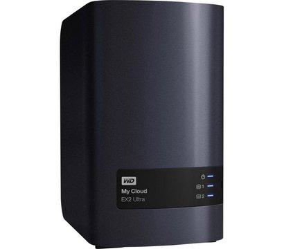 Фото №2 сетевого накопителя (NAS) Western Digital My Cloud EX2 Ultra NAS 4TB 3.5 LAN/USB 3.0 — WDBVBZ0040JCH-EESN