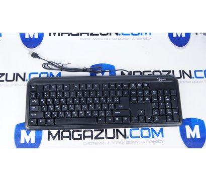 Фото №1 клавиатуры Gembird KB-U-101-UA USB Black