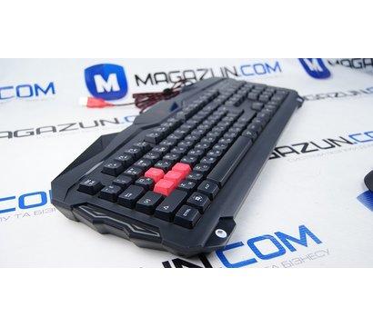 Фото №9 комплекта мышь+клавиатура A4Tech B2100 Bloody USB Black