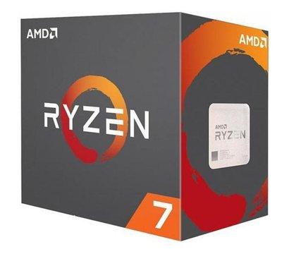 Фото процессора AMD Ryzen 7 2700X, YD270XBGAFBOX