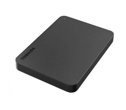 Фото №2 жесткого диска Toshiba Canvio Basics 1TB 2.5 USB 3.0 External Black — HDTB410EK3AA