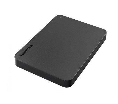 Фото №2 жесткого диска Toshiba Canvio Basics 2TB 2.5 USB 3.0 External Black — HDTB420EK3AA
