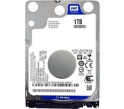 Фото жесткого диска Western Digital Blue 1TB 5400rpm 128MB Buffer 2.5 SATA III — WD10SPZX
