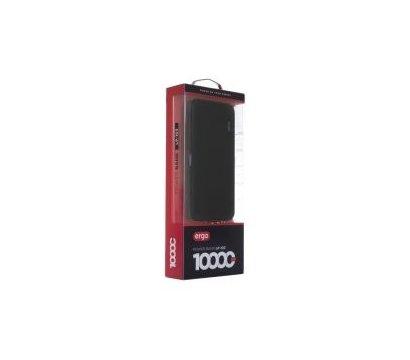 Фото №2 универсальной мобильной батареи Ergo 10000mAh Black — LP-103B