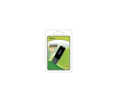 Фото №3 USB флешки Apacer AH322 USB 2.0 16GB Black - AP16GAH322B-1