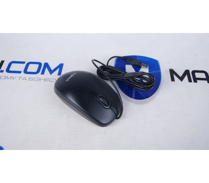 Фото №1 компьютерной мышки Logitech B100 USB — 910-003357
