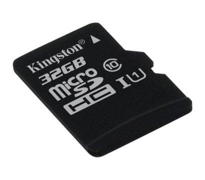 Фото №1 карты памяти Kingston Canvas microSDHC Class10 32GB - SDCS/32GBSP