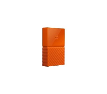 Фото №1 жесткого диска Western Digital My Passport 2TB 5400rpm 2.5 USB3.0 External Orange — WDBS4B0020BOR-WESN