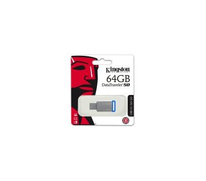 Фото №3 USB флешки Kingston DataTraveler 50 Metal 64GB USB 3.0 - DT50/64GB