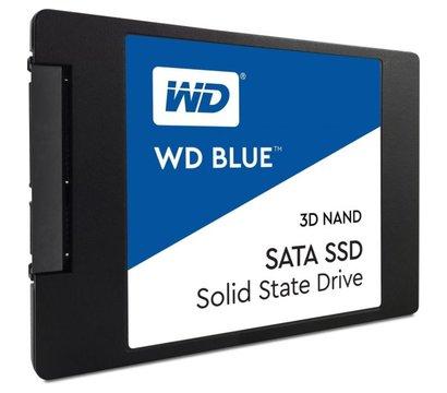 Фото №1  SSD Western Digital Blue 500GB SATAIII 3D V-NAND — WDS500G2B0A