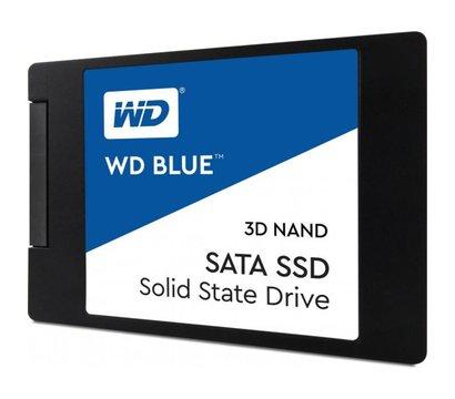 Фото  SSD Western Digital Blue 500GB SATAIII 3D V-NAND — WDS500G2B0A