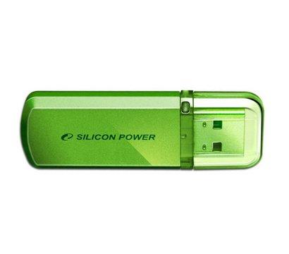 Фото №2 USB флешки Silicon Power Helios 101 Green 64GB USB 2.0 - SP064GBUF2101V1N