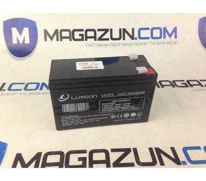 Фото №1 аккумулятора Luxeon LX 1272, 12В, 7.2 Ач