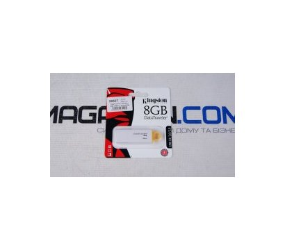 Фото №1 USB флешки Kingston DataTraveler I G4 White 8GB USB3.0 - DTIG4/8GB
