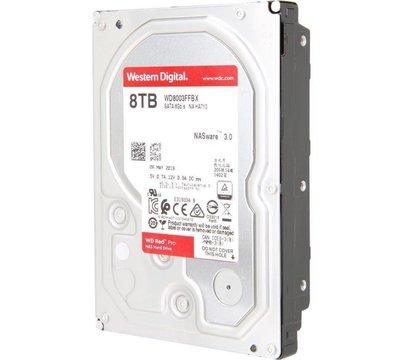 Фото №1 жесткого диска Western Digital Red Pro 8TB 7200rpm 256MB 3.5 SATA III — WD8003FFBX