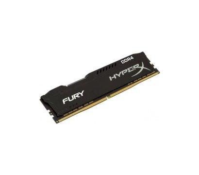 Фото №1 модуля памяти Kingston HyperX Fury Black DDR4 16384Mb 3200MHz — HX432C18FB/16