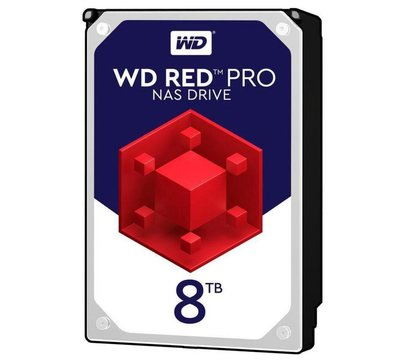 Фото №3 жесткого диска Western Digital Red Pro 8TB 7200rpm 256MB 3.5 SATA III — WD8003FFBX