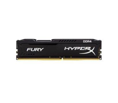 Фото модуля памяти Kingston HyperX Fury Black DDR4 16384Mb 3200MHz — HX432C18FB/16