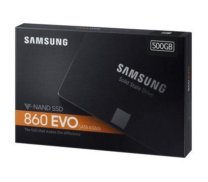 Фото №6  SSD Samsung 860 EVO series 500GB 2.5 SATA III MLC — MZ-76E500BW