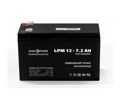 Фото аккумулятора LogicPower LPM 12-7.2 AH