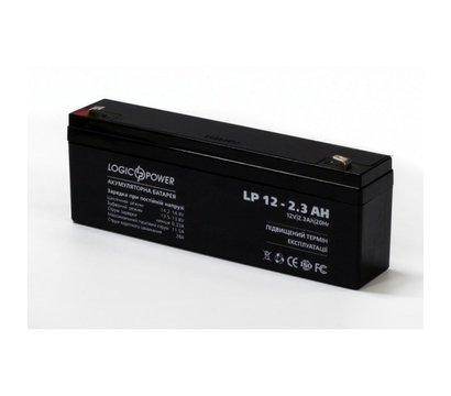 Фото аккумулятора LogicPower LPM 12-2.3 AH
