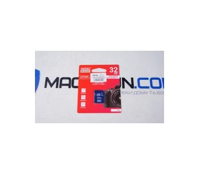 Фото №1 карты памяти GoodRam UHS-I SDHC Class 10 32GB - S1A0-0320R11