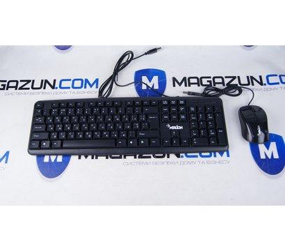 Фото №1 комплекта мышь+клавиатура Merlion СOMBO Prime Black