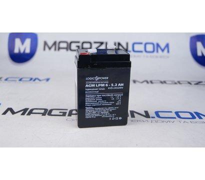Фото №1 аккумулятора LogicPower LPM 6-5.2 AH