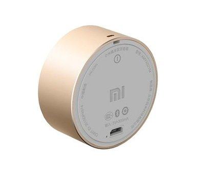 Фото №1 акустики Xiaomi Mi Round BT Speaker Gold — FXR4039CN