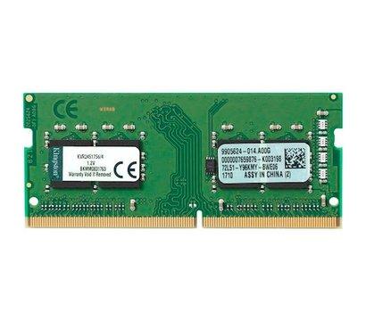 Фото модуля памяти Kingston HyperX Impact SO-DIMM DDR4 4096Mb 2400MHz — KVR24S17S6/4