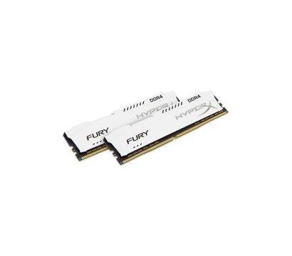 Фото модуля памяти Kingston HyperX Fury White DDR4 2x8192Mb 2400MHz — HX424C15FW2K2/16
