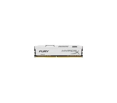 Фото модуля памяти Kingston HyperX Fury White DDR4 16384Mb 2400MHz — HX424C15FW/16