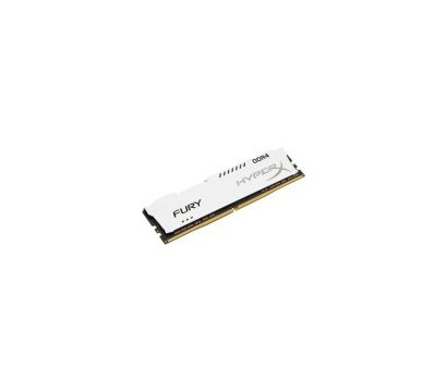 Фото №1 модуля памяти Kingston HyperX Fury White DDR4 16384Mb 2400MHz — HX424C15FW/16