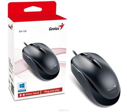 Фото №2 компьютерной мышки Genius DX-110 PS/2 Black — 31010116106