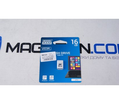 Фото №2 USB флешки GoodRam Piccolo White 16GB USB 2.0 - UPI2-0160W0R11