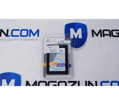 Фото №5  SSD Team L5 LITE 240GB SATA III 3D V-NAND TLC — T253TD240G3C101