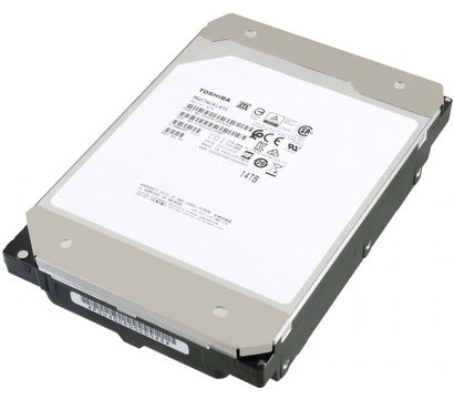 Фото жесткого диска Toshiba Enterprise Capacity 14TB 7200rpm 256MB Buffer 3.5 SATA III — MG07ACA14TE