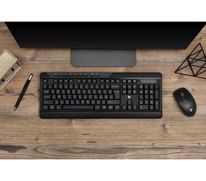 Фото №14 комплекта мышь+клавиатура 2E MK410 Black — 2E-MK410MWB