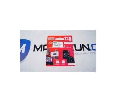 Фото №1 карты памяти GoodRAM MicroSDHC 128GB UHS-I Class 10 + SD-adapter + OTG Card reader — M1A4-1280R11