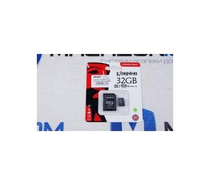 Фото №1 карты памяти Kingston microSDHC Class10 32 GB - SDC10/32GBSP