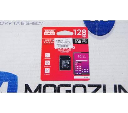 Фото №1 карты памяти GoodRam MicroSDXC 128GB UHS-I Class 10 + SD-adapter — M1AA-1280R12