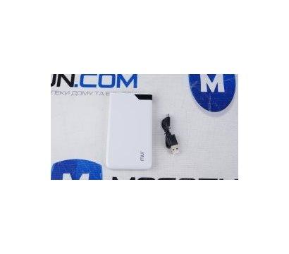 Фото №2 универсальной мобильной батареи MiUi Powerbank 5000 mAh i606D White